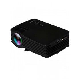 Smp 1080p LED PROJECTOR WITH 100 inch Map types screen USB/SD/HDMI/AV