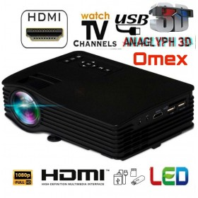 LOW PRICE BEST HOME CINEMA 1080p HD LED PROJECTOR USB/SD/HDMI/AV INPUT