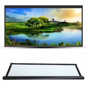 Projector Screen 100 inch Polyester HD 16:9 Home Outdoor Cinema 3D Film Projection For Home Office.