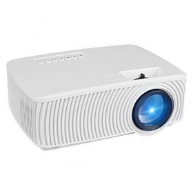 RD-816 Portable Projector 1800 Lumens LED Mini Home Projector for Outdoor Indoor Movie,Home Theater HDMI VGA USB Support iPhone Andriod Smartphones,Laptops,Tablets,Blu-ray DVD Player