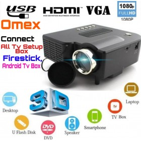 low price Home cinema projector with USB/HDMI/VGA/AV/SD support e