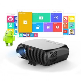 Original Vivibright FULL HD LED Projector LCD 3500 Lumens LED Luminous, WXGA Resolution 1280x800 Pixels with Remote Controlle, Support HDMI, VGA, AV, USB