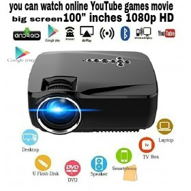 1280p HD 4k SMART Android WI-FI/BT video projector