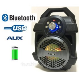 Bluetooth Speaker Led Big Capacity Sound Bass With input MIC.