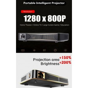 4K DLP LED SMART Android PROJECTOR 3D 1280×800 Resolution best us Business/class/school/Home